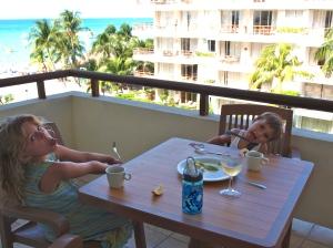 Our condo on Isla Mujeres, Mexico.