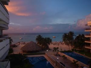 View from Ixchel Beach Hotel, Isla Mujeres.
