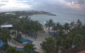 Check out the Dreams Resort's live web-cam! Photo courtesy Dreams Resorts.